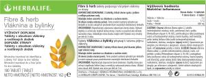 SKU 3114 Fiber & Herb Vláknina a bylinky