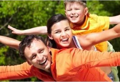 štastní ľudia - rodina