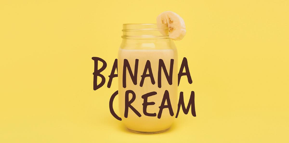Formula 1 banan cream